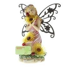 Garden Blooms Fairy Solar Statue - $29.65