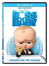The Boss Baby [DVD, 2017] New