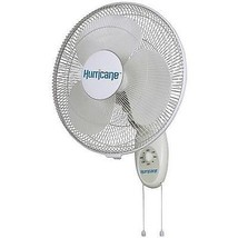 "Hurricane Supreme Wall Mount Oscillating 3-speeds Fan 16"" - 736505 ..#G4... - $83.66"