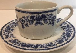 Farberware Casual Concepts Blue Chintz Cup/Sauc... - $54.44
