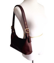 Vintage Coach Leather Legacy Shoulder Bag Purse Brown - $127.16