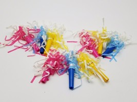 34 Frilly Multicolor New Years Eve blowers noisemakers  - $7.91