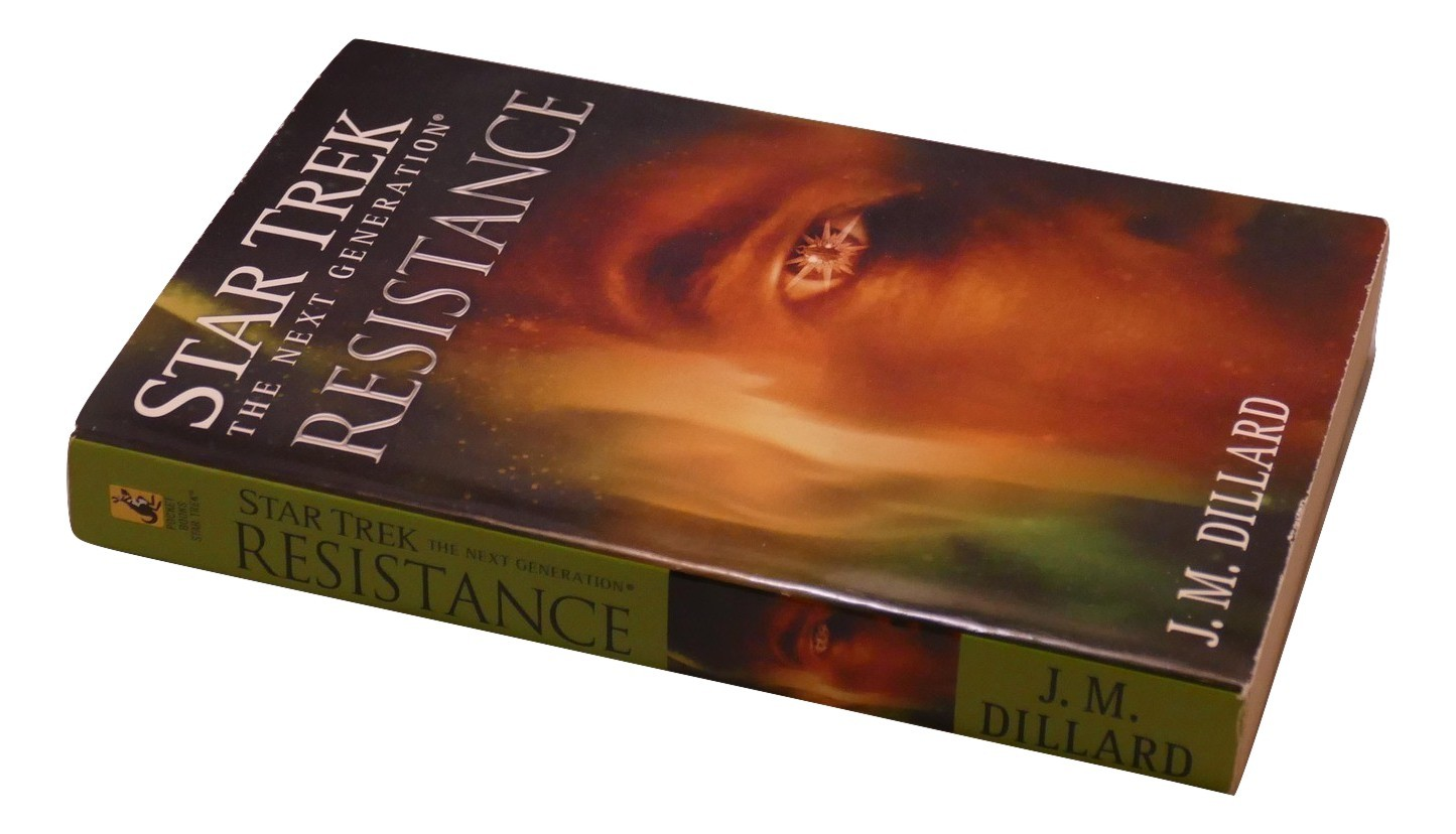 Primary image for Star Trek The Next Generation Resistance J.M. Dillard Paperback Book Star Trek