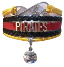 Pittsburgh Pirates Baseball Fan Shop Infinity Bracelet Jewelry - $11.99