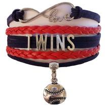 Minnesota Twins Baseball Fan Shop Infinity Bracelet Jewelry - $11.99