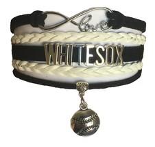 Chicago White Sox Baseball Fan Shop Infinity Bracelet Jewelry - $11.99