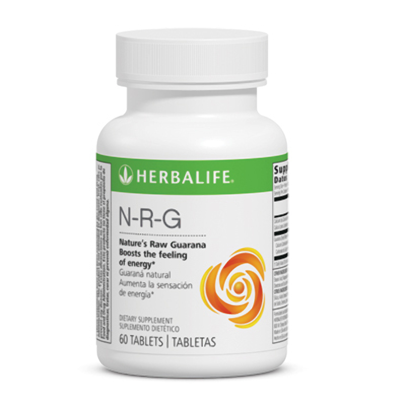 Herbalife N-R-G Nature's Raw Guarana Tablets 60 Tablets for sale  USA