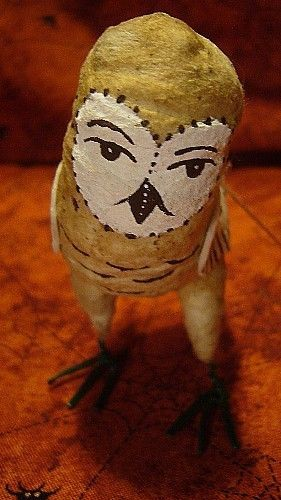 VINTAGE INSPIRED BARN OWL NO. 63 SPUN COTTON