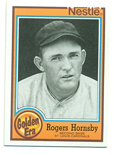 1987 Topps Golden Era Rogers Hornsby #2 St. Louis Cardinals - Baseball Card