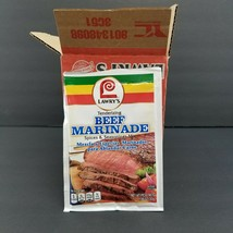 Lawry's Beef Marinade Mix Meat Tenderizer Seasoning, No MSG, 1.06 oz pack of 12 - $29.65
