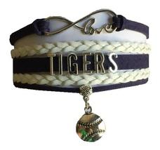 Detroit Tigers Baseball Fan Shop Infinity Bracelet Jewelry - $11.99
