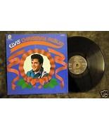 Elivis' Christmas Album LP CAS-2428 Stereo Camden - $5.00