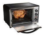 Hamilton Beach 31104 Countertop Oven with Convection and Rotisserie Silver