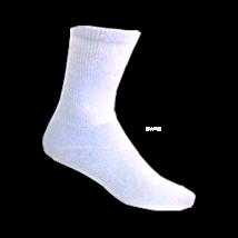 White- Men's Diabetic Socks 3 pairs Size 10-13 - $8.75