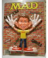 1988 Mad Magazine Alfred E. Neuman Bendable Figure Sealed On Display Car... - $23.85