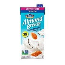 Blue Diamond Dairy Free Almond Breeze Almondmilk Blend Unsweetened Vanil... - $41.21