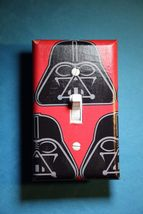 Star Wars Darth Vader Light Switch Plate Cover bedroom room home decor cave - $8.59
