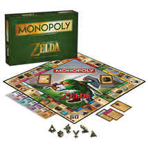 The Legend of Zelda Monopoly Board Game Collect... - $35.52