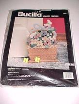 Bucilla Plastic Canvas Victorian Basket Doorstop Dick Martin 1990 Item 6045 New - $44.50