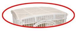 Baby Gear IRIS 24 Exercise 4Panel Pet Playpen Roof White USA Inc 301479 ... - $17.20