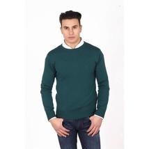 Green M Versace 19.69 Abbigliamento Sportivo Milano mens round neck swea... - $583.45