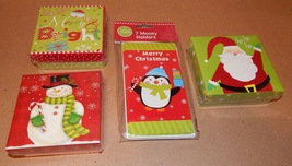 Christmas Money Holders & Gift Card Boxes 4 Items Total Mix Lot By Big L... - $11.49