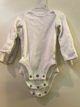 Carter's Just One You Newborn 3pk Long Sleeve Bodysuits White - $6.95