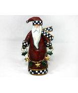 Christmas Santa Claus Ceramic Figurine - $12.99