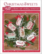 Christmas Sweets sleds cross stitch chart Sue H... - $10.00
