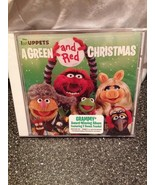The Muppets A Green and Red Christmas CD 2011 Brand New Sealed & Bonus T... - $9.99