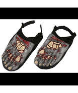 Halloween Bloody Horror--ZOMBIE FEET SHOE COVERS--Walking Dead Costume A... - $8.88