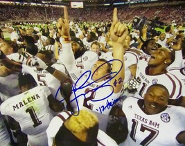Johnny Manziel Hand Signed 11'' X 14'' Photo Texas A&M Aggies w/coa 2012 Heisman - $74.99