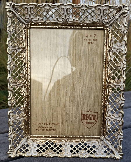 VINTAGE 60\'S Gold Filigree Picture Frame 5x7 and 29 similar items
