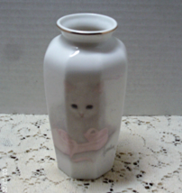 Vintage OTAGIRI Bob Harrison Design Persian Cat With Ballet Slipper Tabl... - $12.00