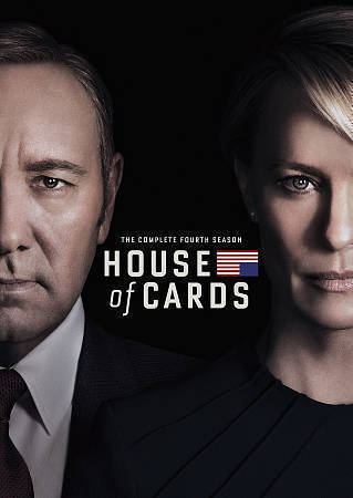 House of Cards: Complete Fourth Season 4 (DVD) New TV Series