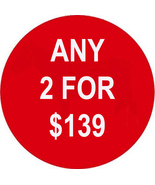 FR--SUN PICK ANY 2 FOR $139 SPECIAL BEST OFFERS... - $0.00