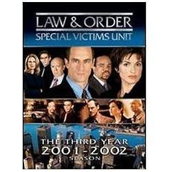 Law & Order Special Victims Unit The Third Year Season 3 (DVD) New TV Series SVU