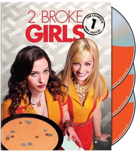2 Broke Girls: The Complete First Season 1 [3 DVD Set] New TV Series Comedy