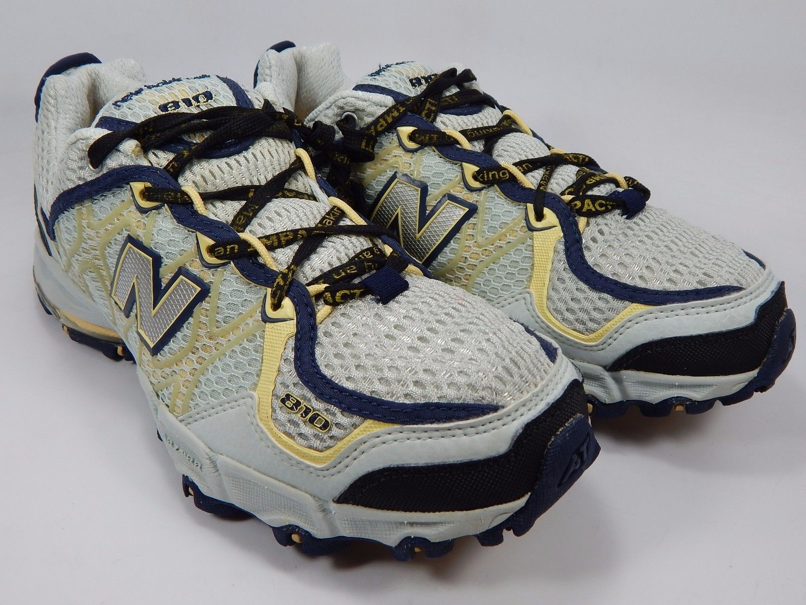 New Balance 810 Women's Trail Running Shoes Size US 9.5 M (B) EU 41 Light Blue