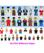 Grab Bag Lot of 36Pcs Minifigures toys Figures ... - $17.99