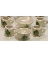 Dollhouse Christmas Tree Mugs & Accessories 13-pc white By Barb NRFB 1:12 - $25.00