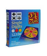 24 Game: 48 Card Deck, Single Digit Cards Math Game - $13.01