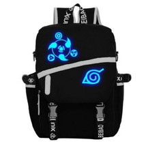 Naruto Uchiha Sasuke Luminous Sharingan Eyes Pattern Cool Backpack - $49.99