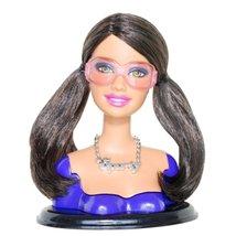 "Barbie Fashionista Swappin' Styles! Sporty Swap Head 3-1/4"" Tall Fits Standar... - $54.44"