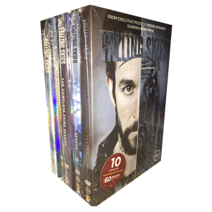 Falling Skies Complete Seasons 1-5 1.2.3.4.5 DVD Box Set 15 Disc Free Shipping