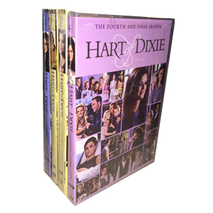 Hart of Dixie The Complete Season 1-4 1.2.3.4 DVD Box Set 18 Disc Free Shipping