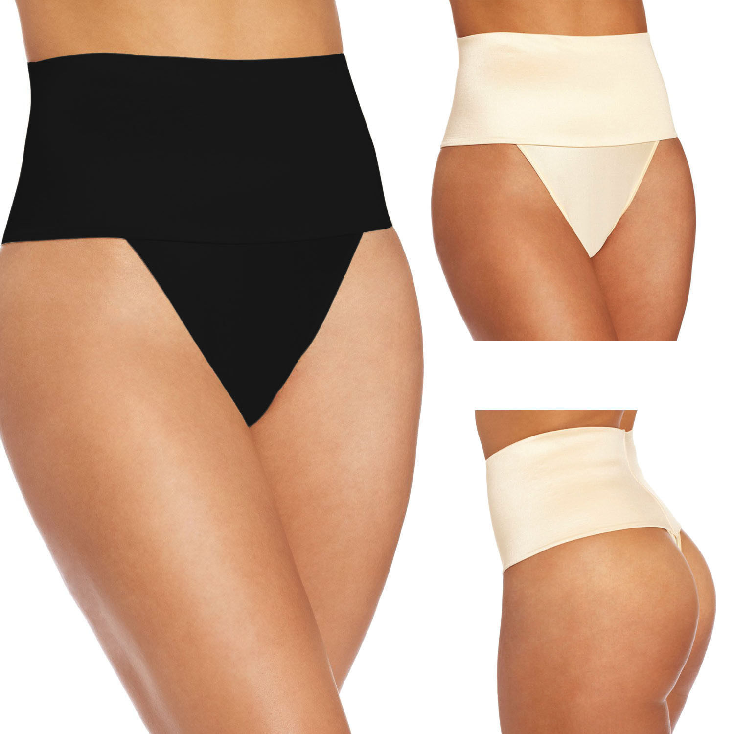 267a6a328bd High Waist Briefs Thong Body Shaper Tummy and 50 similar items