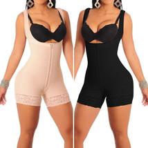 Body Shaper Waist Cincher Underbust Corset Bodysuit Jumpsuit Zipper Shap... - $17.55+