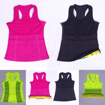 Hot Stretch Neoprene Body Shaper Shirts Vest Thermo Slimming Sport Yoga Tank Top - $14.24+