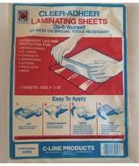 "C-Line Cleer Adheer Laminating Sheets 9""x 12"", #65059 Pack of 2 - $7.05"